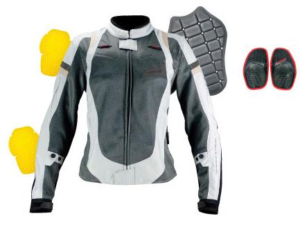 KOMINE コミネ ナイロンジャケット JK-083 レディースフィットメッシュジャケット 3D サイズ:WM