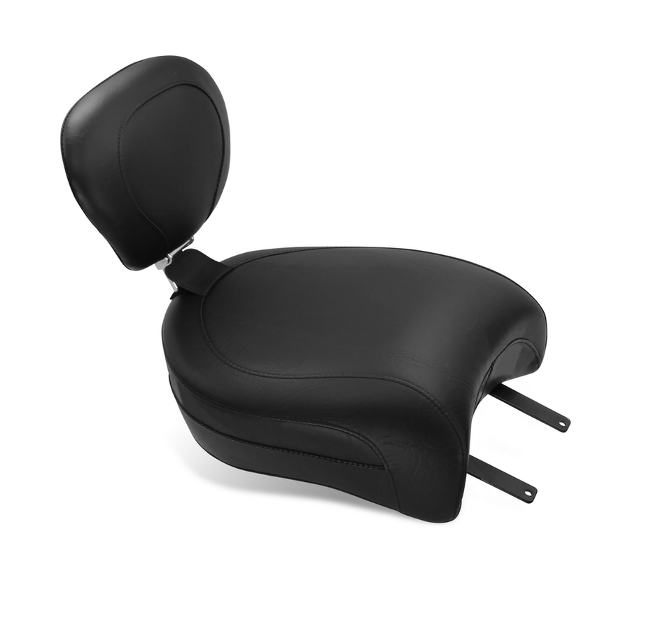 MUSTANG マスタング ツーリングワイドタンデムシート レシーバー付き タンデムバックレスト用 (Wide Touring Passenger Seat with Receiver for Passenger Backrest) Chief Classic 14-16 Chief Dark Horse 16 Chief Vintage 14-16 Chieftain 14-16
