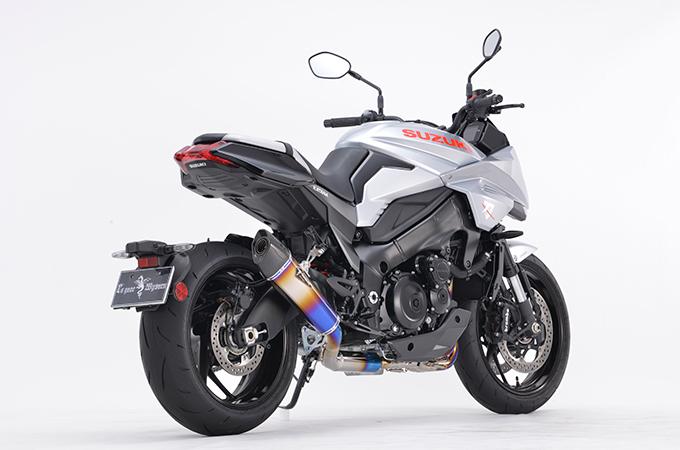 r's gear アールズギア リアルスペック チタンフルエキゾースト シングルタイプ GSX-S1000 GSX-S1000F KATANA