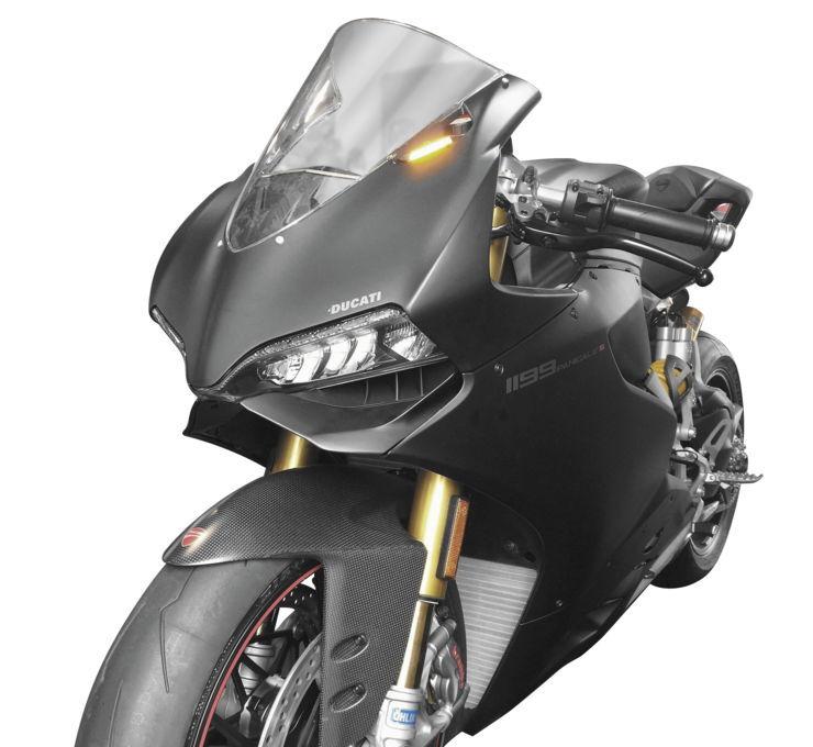 【在庫あり】New Rage Cycles ニューレイジサイクルズ LED ウインカー ミラーブロックオフタイプ 【LED Replacement Turn Signals [578736]】 1199 Panigale