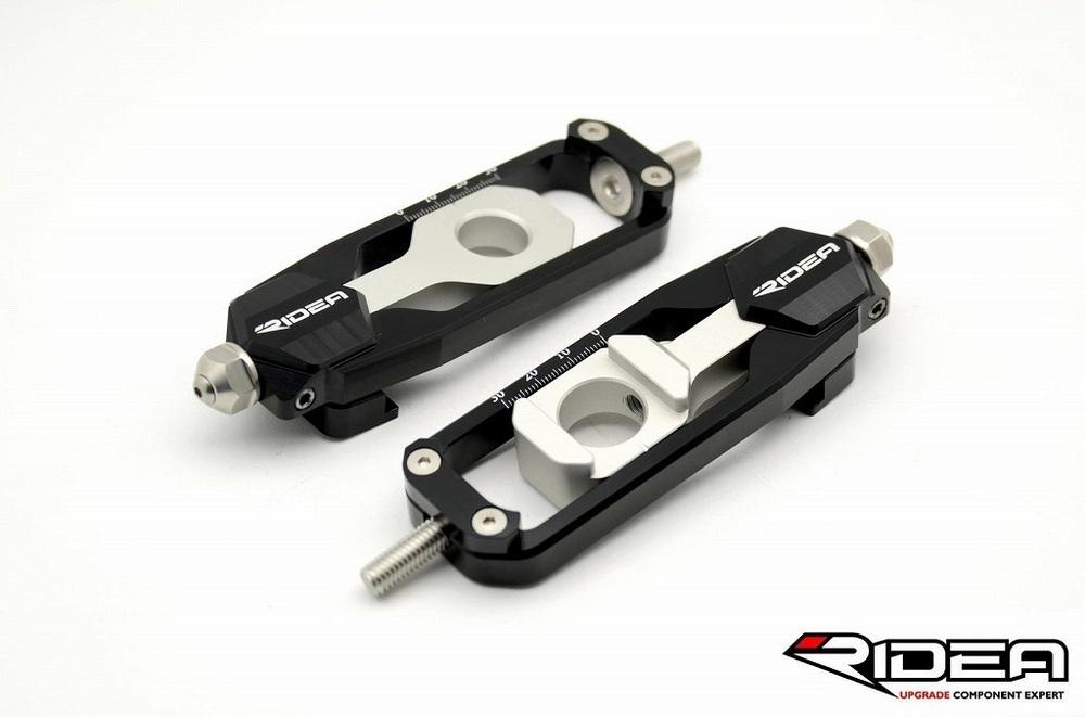 リデア スイングアーム RIDEA チェーンアジャスター カラー:ブラック MT-09 MT-09 トレーサー XSR900