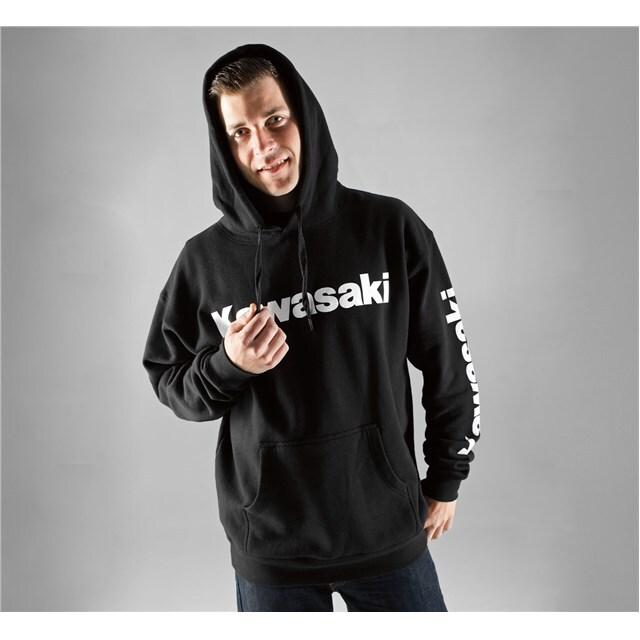 US KAWASAKI 北米カワサキ純正アクセサリー カジュアルウェア ロゴフーディーズスウェットシャツ (Logo Hooded Sweatshirt) サイズ:3X
