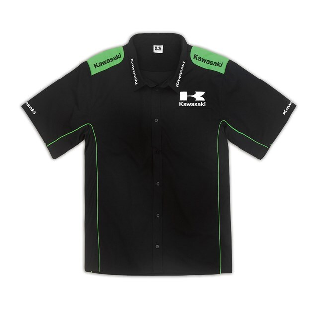 US KAWASAKI 北米カワサキ純正アクセサリー カジュアルウェア Joey Competitionシャツ サイズ:2X