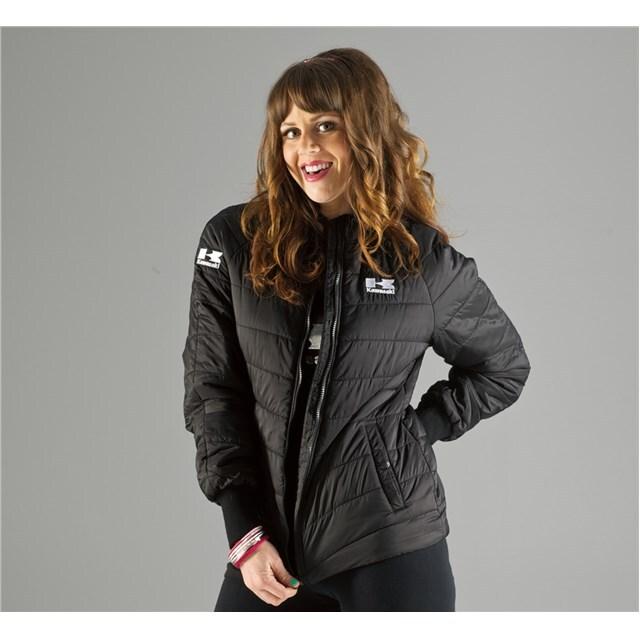 US KAWASAKI 北米カワサキ純正アクセサリー レディース シャッターバットジャケット (Women'S Shutterbug Jacket)