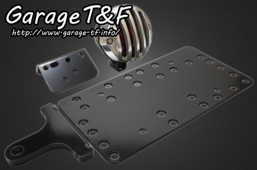 ガレージT&F ナンバープレート関連 サイドナンバーキット・バードゲージテールランプ ゲージ素材:アルミ製ポリッシュ仕上げ 仕様:スモールタイプ(レンズ径52Φ/ゲージ径75Φ)