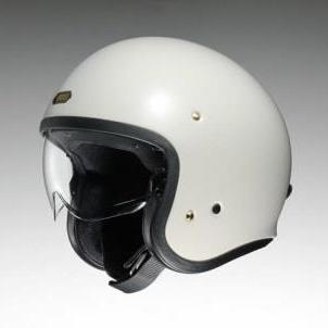 【在庫あり】【イベント開催中!】 SHOEI ショウエイ ジェットヘルメット J・O [ジェイ・オー オフホワイト] ヘルメット サイズ:M