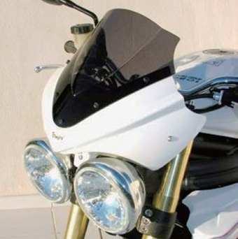 ERMAX アルマックス スクリーン TdF メーターバイザー 1050 Speed Triple