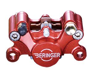 BERINGER ベルリンガー 2ピストンクラシックキャリパー カラー:レッド 左用