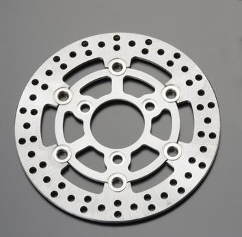 GRONDEMENT グロンドマン キット専用フロントディスクローター シルバー