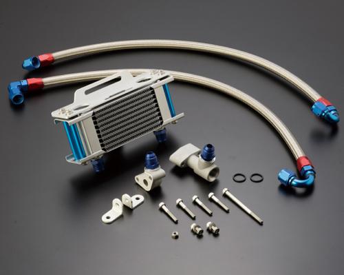 ACTIVE アクティブ フィッティング・ホース関連 【ストレートオイルクーラーキット補修用】 ホースセット カラー:シルバー Z1 Z1000MKII Z2 Z750FX-I