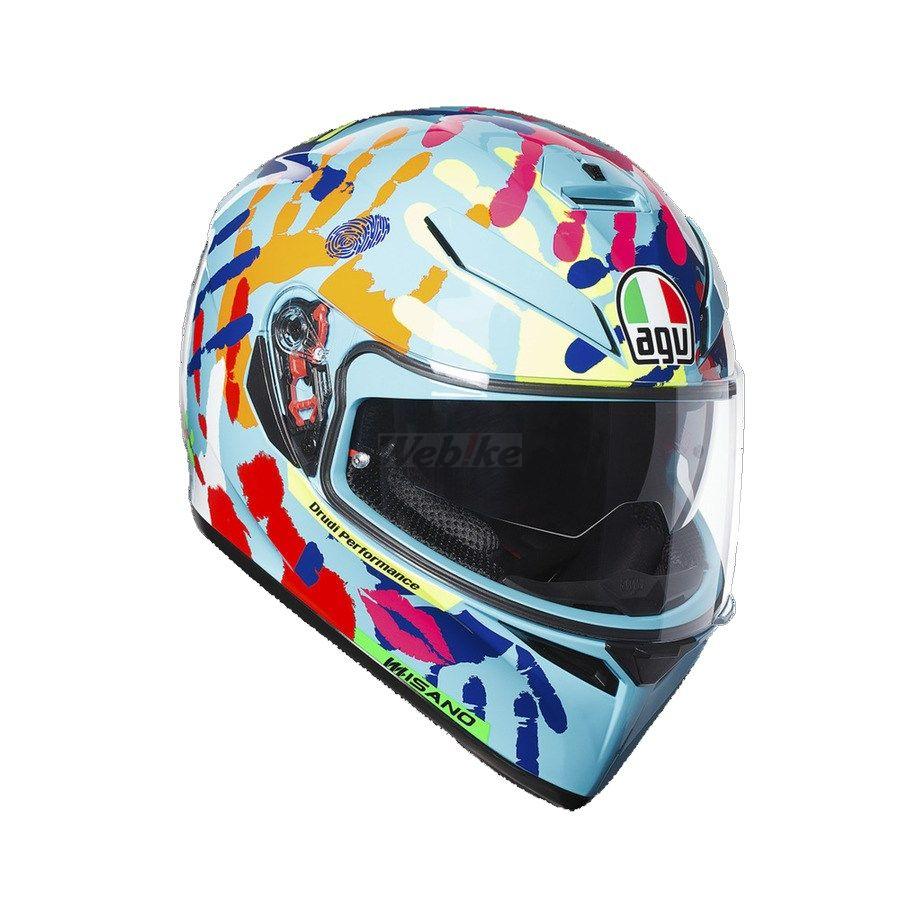【在庫あり】AGV エージーブイ フルフェイスヘルメット K-3 SV ヘルメット (JIST TOP) サイズ:XL(61-62cm)