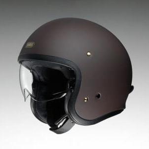 【在庫あり】【イベント開催中!】 SHOEI ショウエイ ジェットヘルメット J・O [ジェイ・オー マットブラウン] ヘルメット サイズ:XL