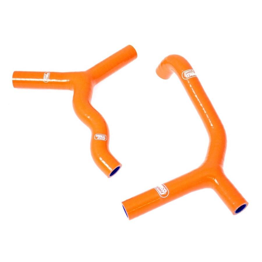 SAMCO SPORT サムコスポーツ ラジエーター関連部品 クーラントホース(ラジエーターホース) カラー:オレンジ 105 SX 2004-2011 85 SX 2003-2012