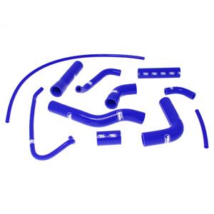 SAMCO SPORT サムコスポーツ ラジエーター関連部品 クーラントホース(ラジエーターホース) カラー:ブルー YZF 600 R6 2006-2016