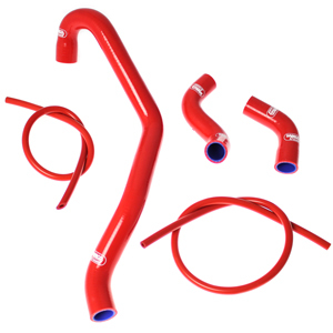 SAMCO SPORT サムコスポーツ ラジエーター関連部品 クーラントホース(ラジエーターホース) カラー:ブルー XT1200 Z Super Tenere 10-17 XT1200 Z World Crosser 10-17
