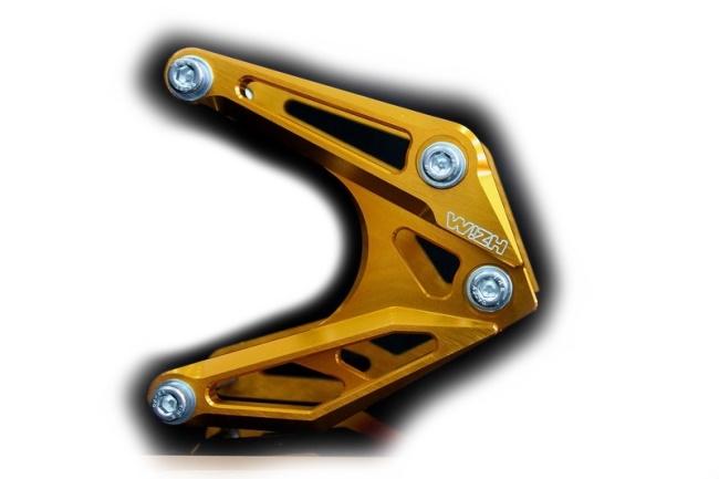 WIZH ウィズ その他エンジンパーツ エンジンブラケット カラー:レッド T1