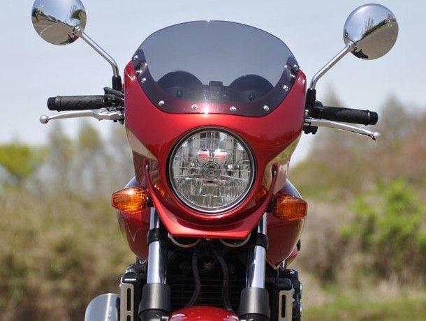 CHIC DESIGN シックデザイン CB400SF ビキニカウル・バイザー ロードコメット2 カラー:スモーク VTEC カラー:パールコスミックブラック CB400SF Revo VTEC Revo 14-17, サガラチョウ:e66b9773 --- jpsauveniere.be
