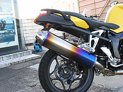 ササキスポーツクラブ Sasaki sports club チタン・フルエキゾーストマフラー タイプH K1200R SPORT 124ED