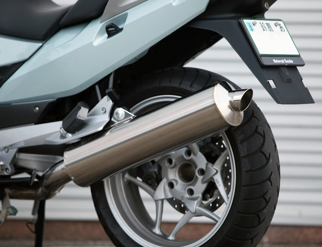 ササキスポーツクラブ Sasaki sports club フルエキゾーストマフラー フルエキゾーストチタンマフラー(DOHC専用) 型式×原動機型式:R1200RT×122EJ 焼き色:無し R1200RT(空冷)