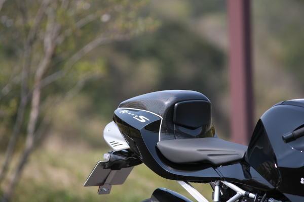 ササキスポーツクラブ Sasaki sports club トップケース・テールボックス シングルシートBOX 素材:ドライカーボン R1200S