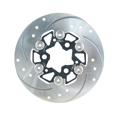 NCY エヌシーワイ Slotted Floating Brake Disc GSR 125 NEX GSR 125 JET POWER