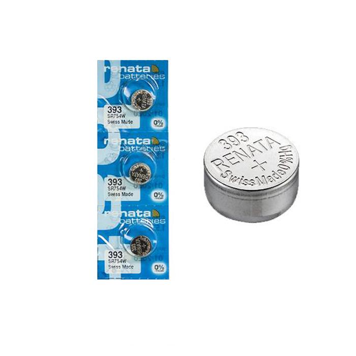 ※アウトレット品 3個セット 同梱可能 ミスフィット レイ 純正 ボタン電池 RENATA393 SR754W MISFIT 公式ショップ レナター RAY専用 スイス製 電池 日本代理店正規品