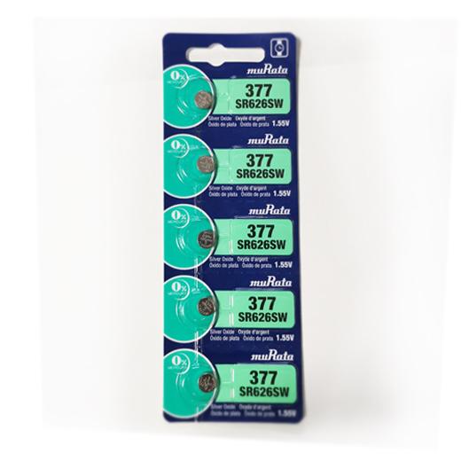 3点以上のご購入で追跡可能メール便無料 5粒 muRata 旧:ソニー SR626SW 377 sony 377コイン電池 ボタン電池 酸化銀電池 日本製 定番の人気シリーズPOINT ポイント 入荷 cell coin 1.55V 逆輸入品 郵便定形無料 buttary 時計用電池 初売り 海外パッケージ