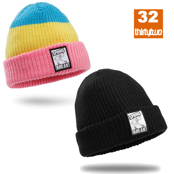 37316b6bd55caa websports: Snowboarding hat thirty two SPRING BREAK 32 snowboarding ...