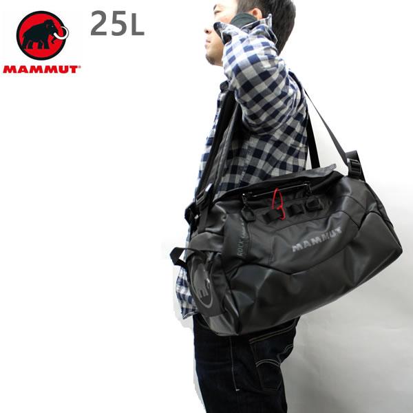 マムート リュック MAMMUT ROCK CARGO SE 25/BLACK 背負えるダッフルバッグ 2510-03760 マムート バッグ【w21】