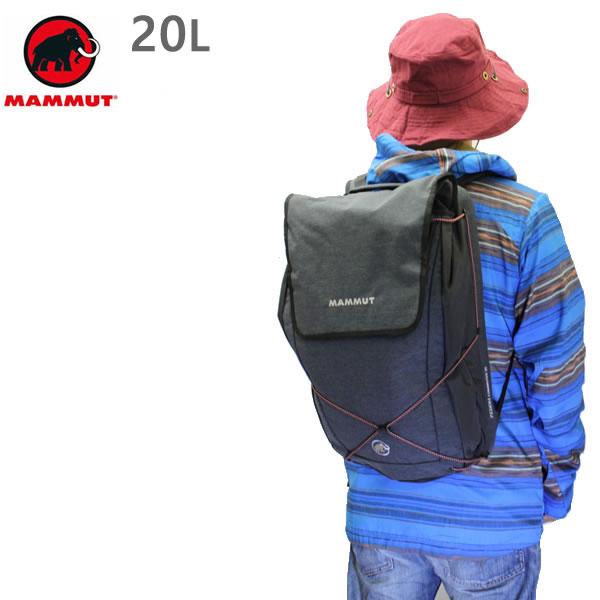 マムート リュック MAMMUT Xeron COMMUTER 20L /BLACK バックパック  2510-03211  0001 マムート バッグ【w21】