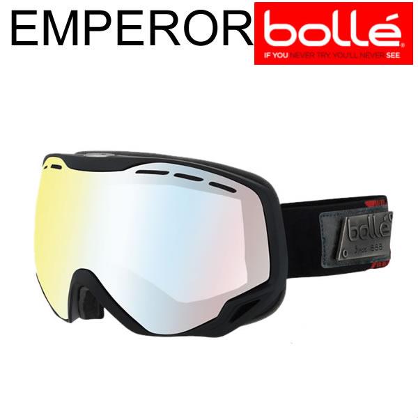 bolle(ボレー) 2018 EMPEROR(エンペラー) Black&Red Heritage クリアマルチレイヤー A03183 17-18 bolle スノーゴーグル【C1】【w40】
