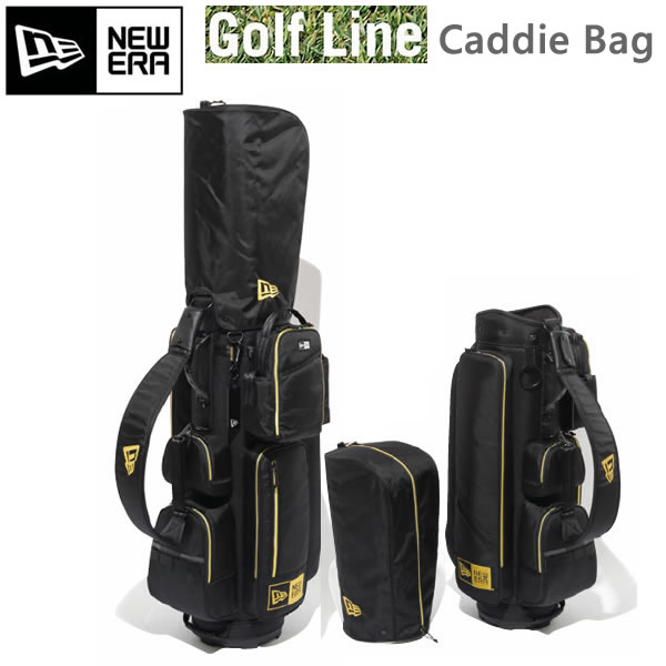 最高 ニューエラ キャディバッグ Caddie Bag ブラックゴールド 11404388 NEWERA ゴルフ【L2】【代引不可】【w23】, 大利根町 285c8e20