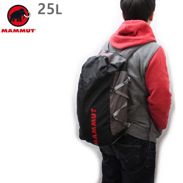 マムート リュック MAMMUT CARGOLIGHT 25L /TITANIUM 背負えるダッフルバッグ 2510-03880 0051 マムート バッグ【w60】