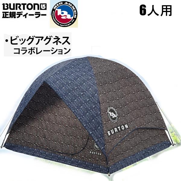 バートン テント 6人用 日よけ RABBIT EARS 6 TENT GUATIKAT PRINT 16702101265 BURTON×ビッグアグネス 日本正規品【w02】