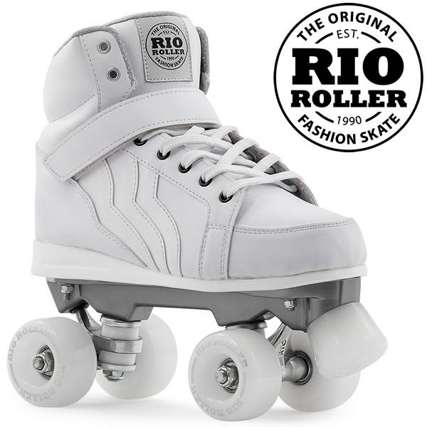RIO ROLLER クワッドスケート KICKS White ローラースケート 【smtb-k】[%OFF]【w62】