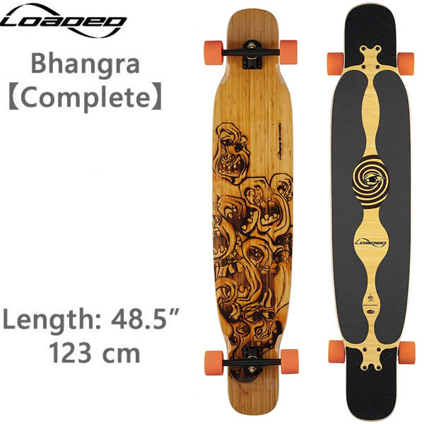 ポイント5倍 ロングスケートボード ローデッド バングラ Bhangra コンプリート ロンスケ スケボー loaded boards【L1】 【w22】