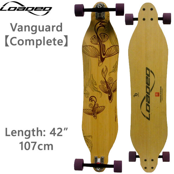 ロングスケートボード ローデッド ヴァンガード Vanguard コンプリート ロンスケ スケボー loaded boards【w63】