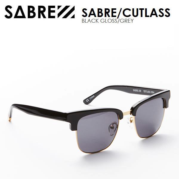 sabre サングラス CUTLASS / BLACK GLOSS/GREY セイバー サングラス【w02】