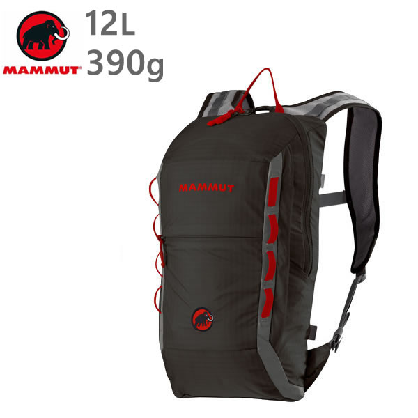 マムート リュック MAMMUT NEON LIGHT 12L /BLACK-SMOKE 0067 バックパック  2510-02490  マムート バッグ【w67】
