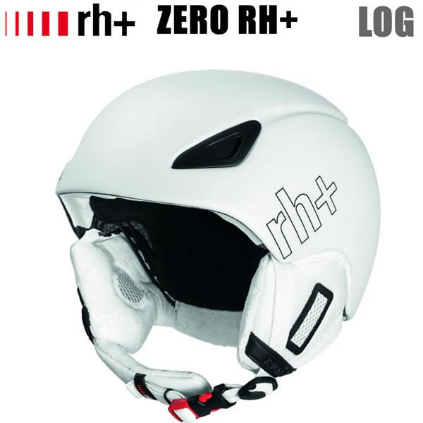 ZEROrh+ ヘルメット LOG  MATTE WHITE PEARL ゼロ アールエイチプラス スキー ヘルメット スノーボード【C1】【w02】