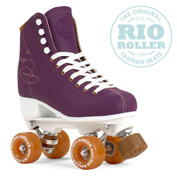 RIO ROLLER クワッドスケート SIGNATURE Purple ローラースケート 【smtb-k】[%OFF]【w28】
