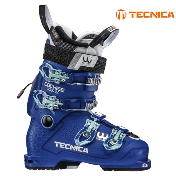 テクニカ スキーブーツ レディース 18-19 COCHISE 105W DYN コーチス105W DYN テックビンディング対応 2019 TECNICA 女性用スキーブーツ【w21】
