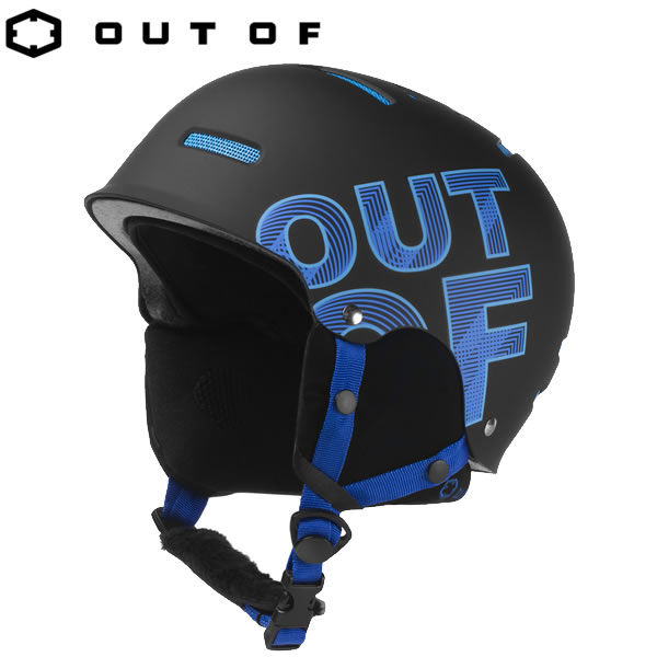 アウトオブ ヘルメット WIPEOUT BLACK BLUE ●Mサイズのみ HELMET OUT OF スノーボード スキー ヘルメット【C1】【w02】