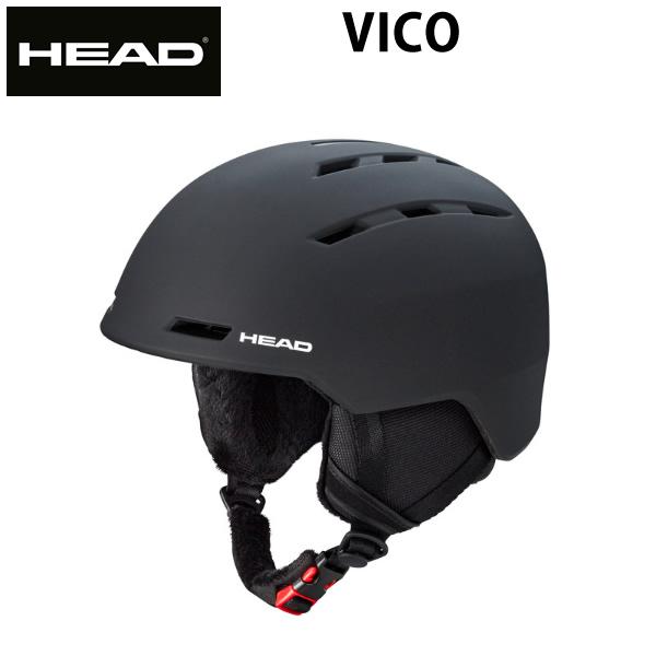 HEAD ヘッド  ヘルメット VICO  ブラック 18-19  helmet スキー&スノーボードヘルメット スノー用品 【C1】【w35】