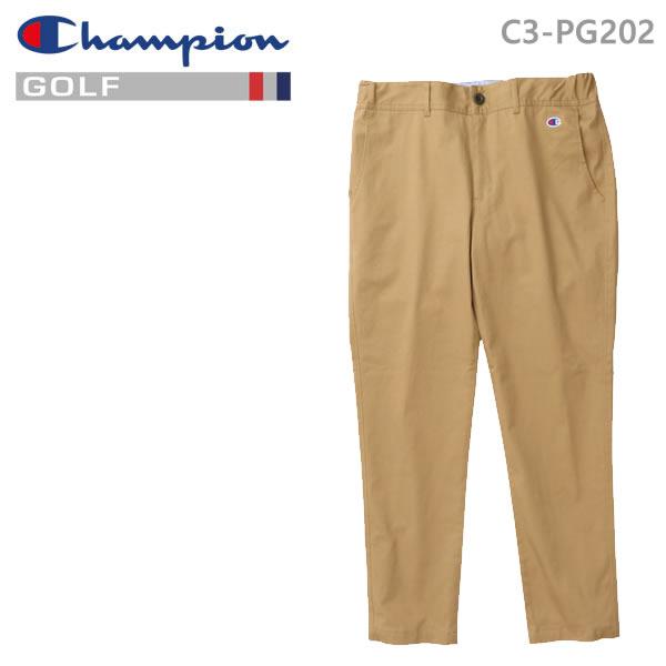 チャンピオン ゴルフ ロングパンツ C3-PG202-780 ベージュ Champion GOLF 日本正規品【C1】【w19】