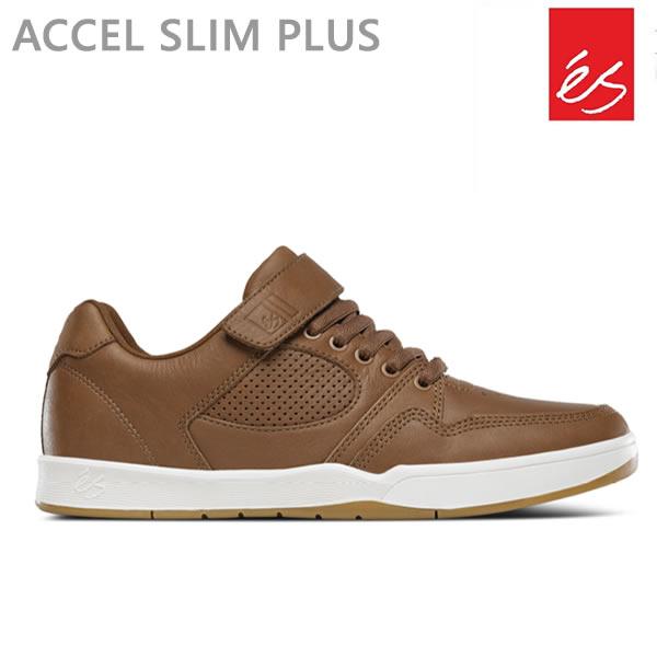 エス スニーカー アクセル スリム ACCEL SLIM PLUS/BROWN エス スケシュー スケートボード シューズ es skateboarding【C1】【w75】
