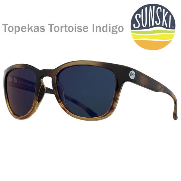 【w59】サンスキー サングラス Topekas Tortoise Indigo-Polarized SUN-TO-TIN sunski サングラス 偏光サングラス【K1】【w59】【w60】