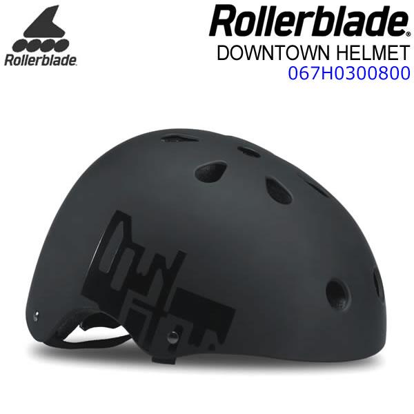 ローラーブレード インライン ヘルメット 2019 DOWNTOWN HELMET ブラック×イエロー 大人用 067H0300800 ROLLERBLADE 【w09】