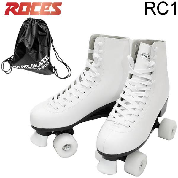 ROCES クワッドスケート RC-1 White プラ素材フレーム&トラック CLASSIC ROLLER ロチェス ローラースケート 【smtb-k】[%OFF]【w62】