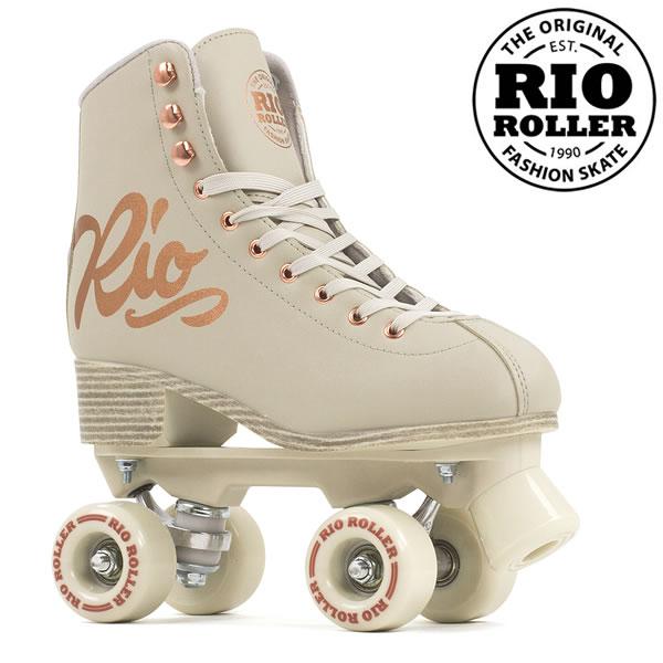 RIO ROLLER クワッドスケート ROSE Cream ローラースケート 【smtb-k】[%OFF]【w28】